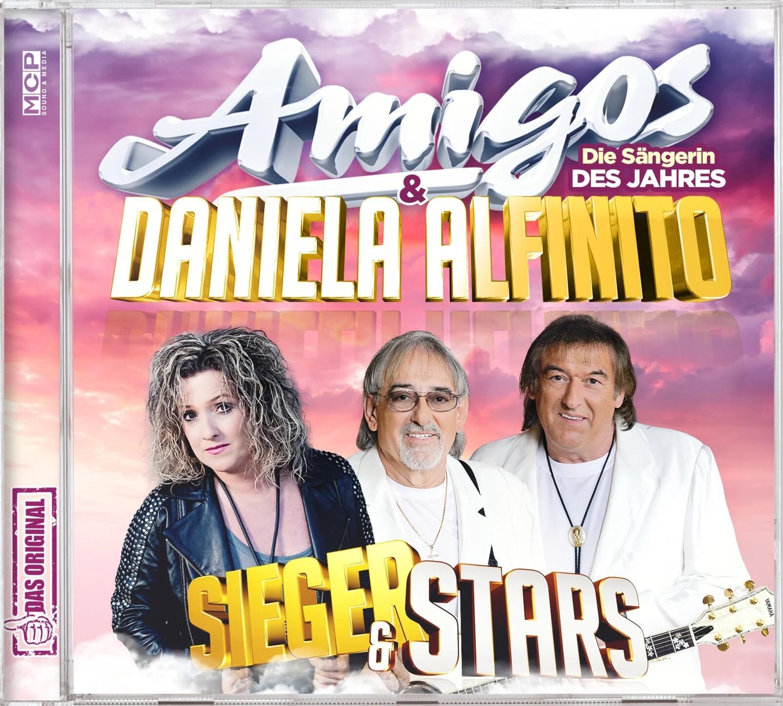 Amigos & Daniela Alfinito - Sieger & Stars (2021)
