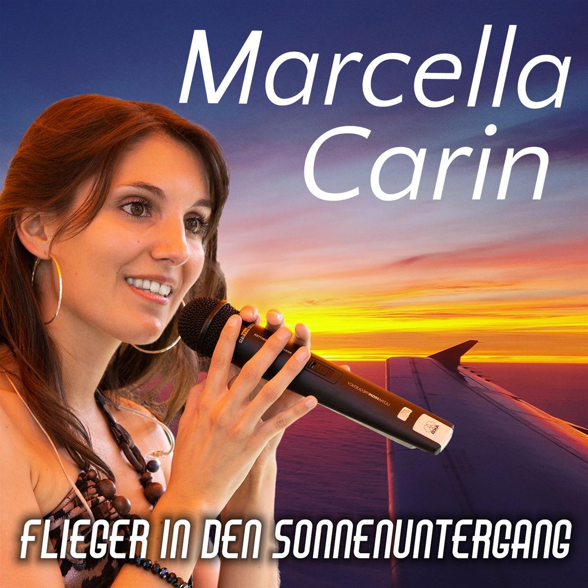 Marcella Carin - Flieger in den Sonnenuntergang (2021)
