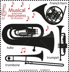 stock-vector-set-of-silhouette-icons-musical-brass-wind-instruments-for-orchestra-vector-illustration-573889474