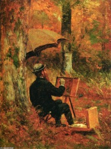 thomas-worthington-whittredge-an-artist-at-his-easel
