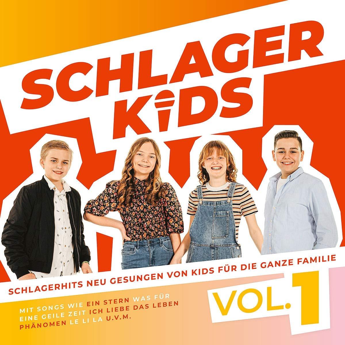 Schlagerkids - Vol.1 (von Kids für die ganze Familie) (2021)