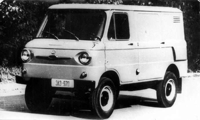 Базовый фургон ЗАЗ-970/971