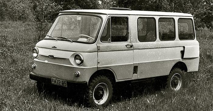 Автобус ЗАЗ-970Б/971Б