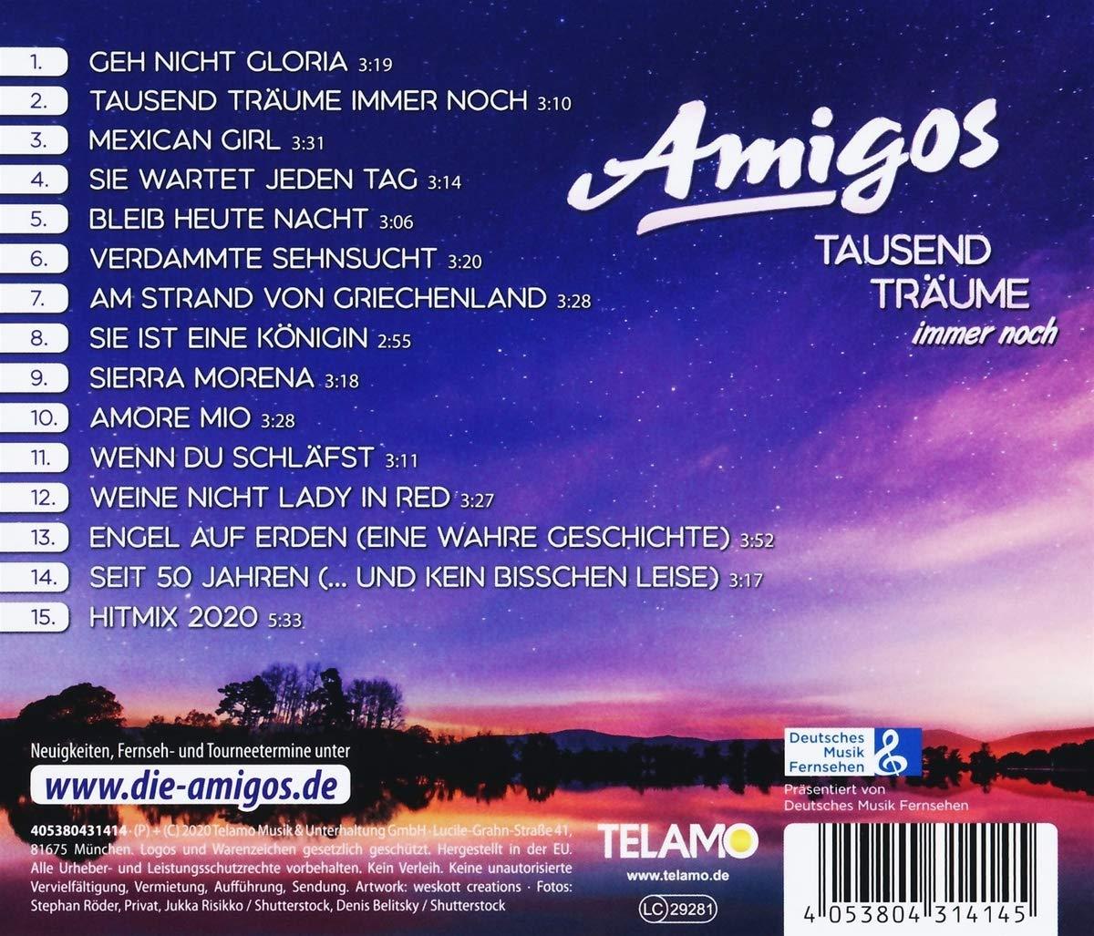 Amigos - Tausend Träume immer noch (2020) Back