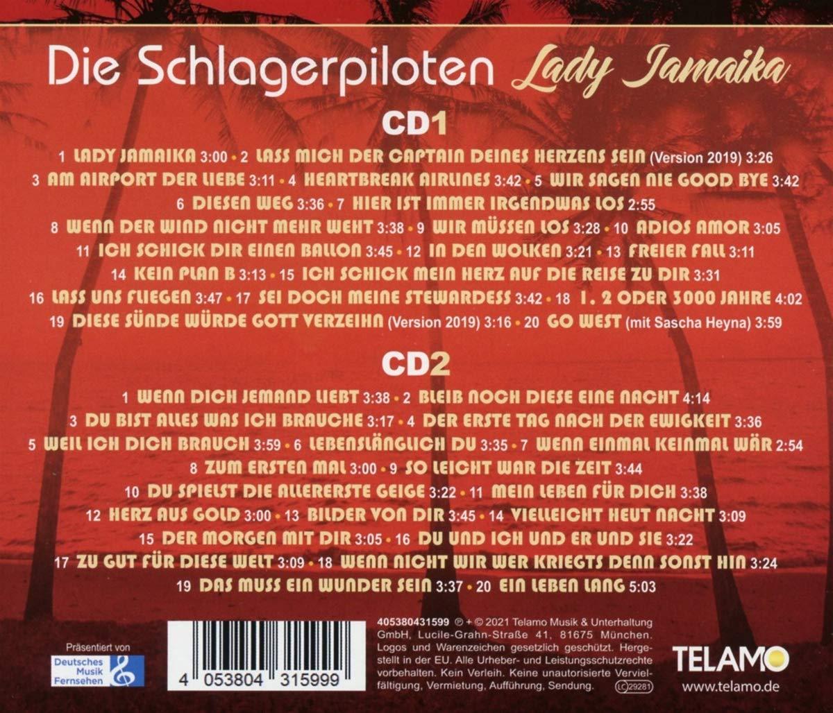 Die Schlagerpiloten - Lady Jamaika - Die schönsten Hits des Sommers (2021)