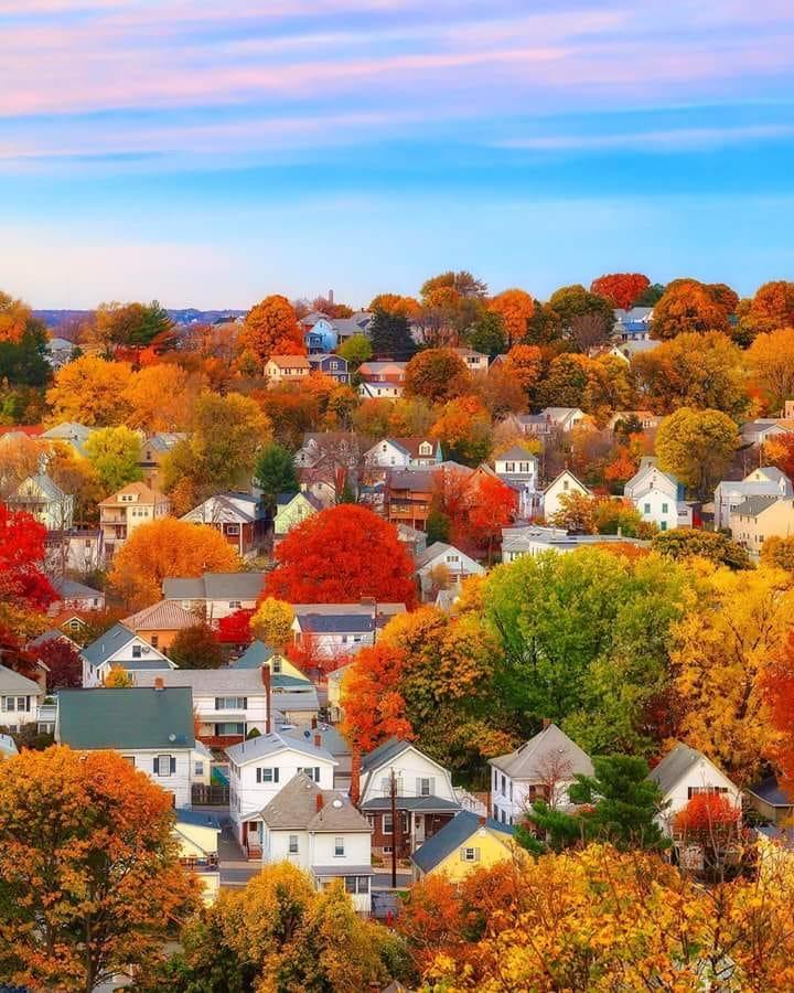 Осень в Бостоне.