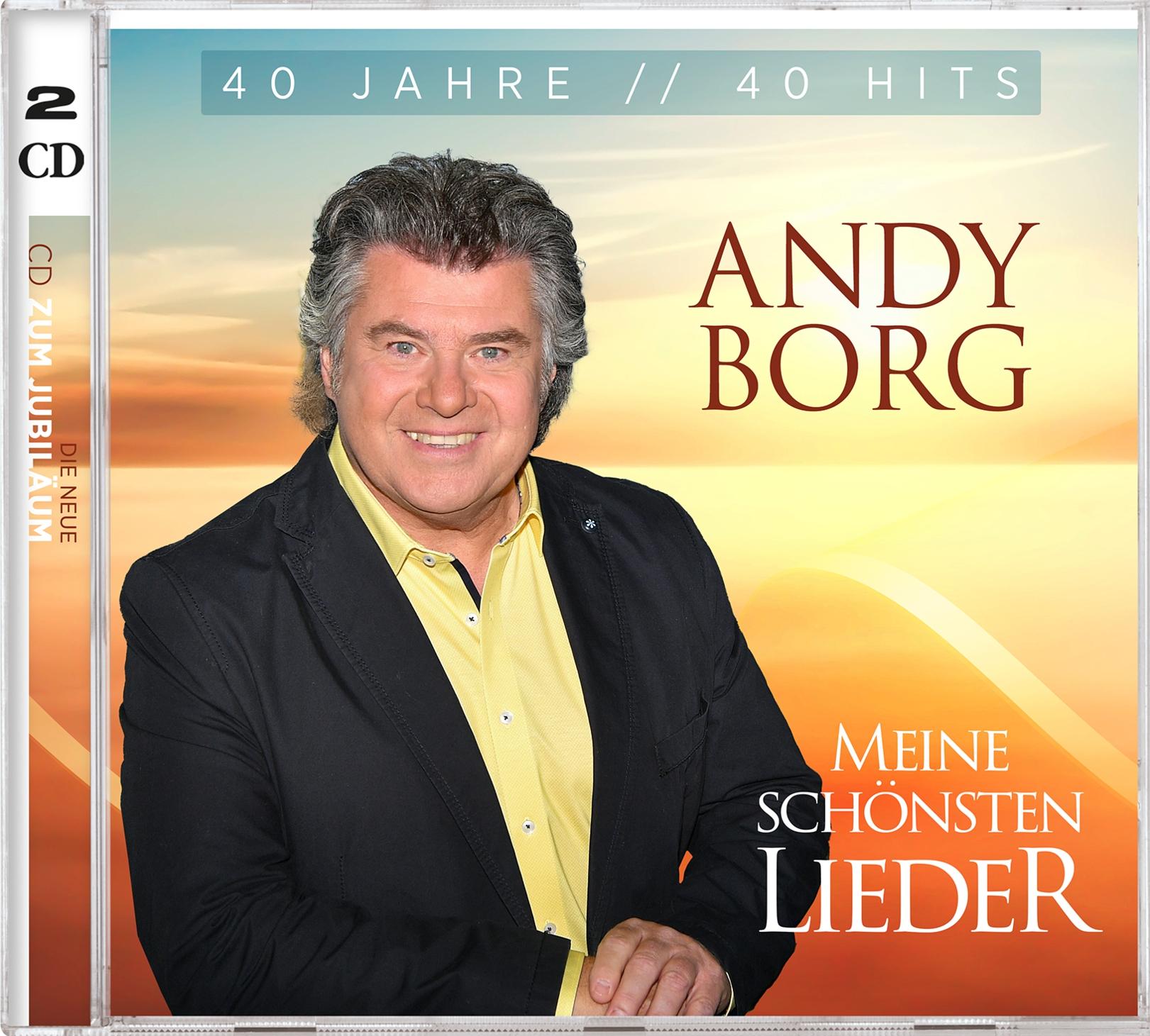 Andy Borg - Meine schönsten Lieder - 40 Jahre 40 Hits (2021)