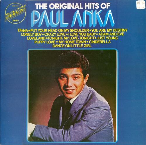 LP. Paul Anka – The Original Hits Of Paul Anka