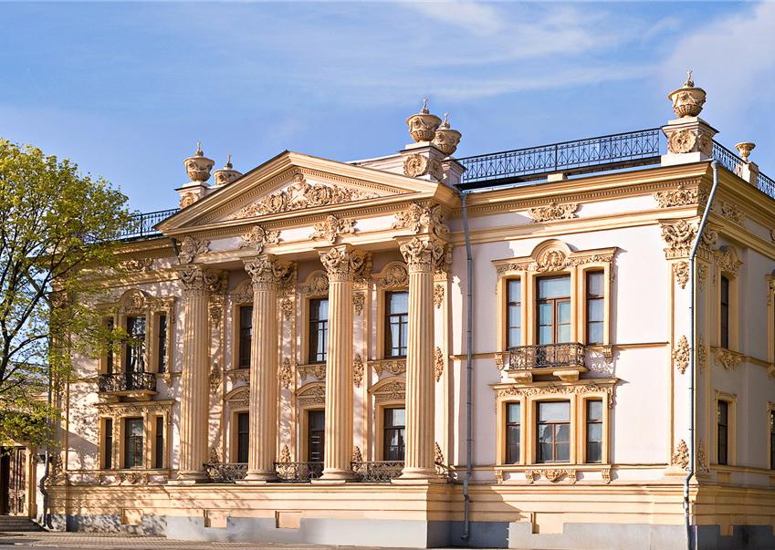 Дворец Алфераки в Таганроге (с 1898 г. - историко-краеведческий музей)